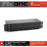 Top Quality 1: 1 Dbx 231 Dual 31-Band Graphic EQ Graphic Equalizer for Sound Performance Enhancement