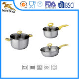 6 PCS Food Grade Stainless Steel Pot Set (PAL-1624)