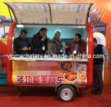 Wholesale fast food trailer snack food truck