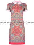 Wholesale Fashion Ladies Polo Shirts (ELTWPJ-119)