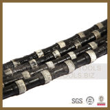 Rubber Spring Granite Marble Concrete Cutting Diamond Wire Saw