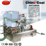 50-5000ml Single Head Liquid Soft Drink Pneumatic Filling Table Machine