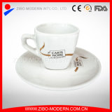 Coffee Cup & Saucer with Design