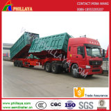 3 Axle 50ton Double Direction Rear Side Lifter Trailer