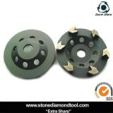 Arrow Segment Diamond Cup Grinding Wheel for Concrete