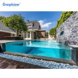 Cheap Hard Plastic 45mm 50mm Thick Acrylic Sheet Thickness for Swimming Pool