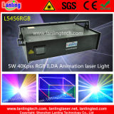 5W Full-Color RGB Night Club DJ Laser Show Lighting