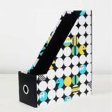 Folding Magazine File Folder Holder / Documents File Storage Box