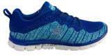 Athletic Women Comfort Flyknit Gym Sports Shoes (W-16766)