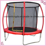 Customized: 8FT Bounce Jump Trampoline with Safety Net, Hot Trampoline