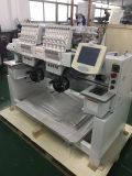 """Two Head Computer Cap Embroidery Machine with 10"""" Touch Screen"""