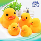 13 PCS Mixed Animals Swimming Water Toys Colorful Soft Floating Rubber Duck Squeeze Sound Squeaky Bathing Toy