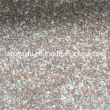 Polished Natural G687 Peach Red Granite Stone for Paving, Countertop