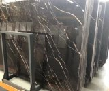 Natural Stone St. Laurent Brown Marble for Floor Tile, Slab, Countertop