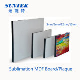 Blank Dye Sublimation 15mm MDF Board/Plaques for Home decoration