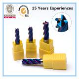 HRC 45-50/55/60/65/High Precision 2/3/4/5/6/8 Flute Carbide End Mill