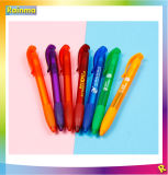 Plastic Cheap Click Ball Point Pen for Promotion Gift and Office School