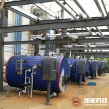China Factory Supply Horizontal Exhaust Gas Heat Recovery Steam Boiler for Oil Gas Generator Set