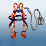 Good Quality European Safety Harness and Rope Lanyard Safety Belt Ni Guangzhou