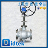 Didtek Dn25 10K Wcb V Type Ball Valve with Pneumatic