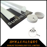 Round Anodized Aluminum Extrusion for LED Tube Light Suspended Mounted