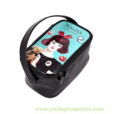 Promotional Cartoon Printing Cosmetic Bag with High Capacity
