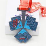 Metal Material and Folk Art Style School Medal Craft
