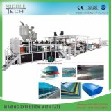 Plastic PMMA/PS Acrylic Perspex Colour Transparent Board/Panel/Sheet Extrusion Production Line