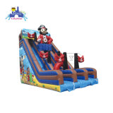 High Quality Customized Theme Slide, Viking Ship Inflatable Land Slide for Sale, Inflatable Bouncing Trampoline with Slide