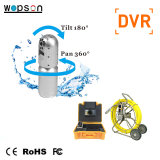 Push Rod Pan and Tilt PTZ CCTV Camera for Sewer Pipe Inspection System