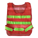 Wholesale Highway Safety Traffic Warning Reflective Fabric Cloth Safety Vest