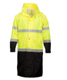 High Visibility Safetyhigh Visibility Rain Gear with Reflective Tape