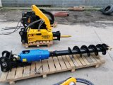 Ground Hole Earth Auger Hydraulic Screw Drill for Excavator
