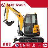 Euro-III 0.12m3 18.2kw Mini Crawler Excavator with Cheap Price