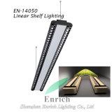 60/90 Degree Shelf Lighting LED Linear Light with Rotatable 75 Degree 3 Direction Emitting
