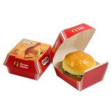 Wholesale Takeaway Burger Cardboard Box Cheap Fast Food Hamburger Packaging Box