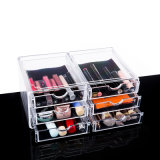 Makeup Cosmetic Organizer Clear Acrylic Drawers Display Rack
