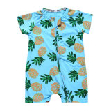 Baby′s Short Sleeve Romper Newborn One Piece Suit Boy Climbing Suit Baby Wear