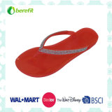 PVC Slippers with Simple Design, Suit for Lady
