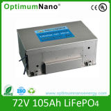 Power LiFePO4 Battery 76V105ah for Electric Cars