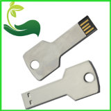 Popular Gift Key Shape Laser Custom Print Logo USB Drive