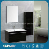 Hot Sell Modern Wall Hang MDF Double Bathroom Vanity with Sink