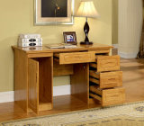 Oak Solid Wood Office Desk Study Desk Study Room Furniture Modern Style (M-X2016)
