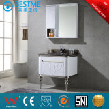 Floor Mounted White Stainless Steel Cabiet with Side Cabinet by-B3303