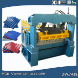 Color Steel Tile Cold Roll Forming Machine