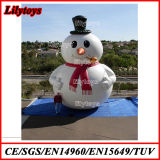Inflatable Snowman Model for Advertising