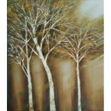 Decorative Painting Tree Picture for Home Decor (LH-092000)