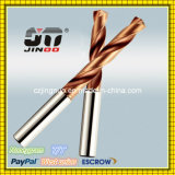 Jinoo High Performance Tungsten Solid Cemented Carbide Drill Bits