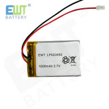 Ewt Lipo Battery Lp523450 1000mAh 3.7V Lithium Polymer for GPS Tracker