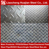 Tear Drop Ms Hr Mild Steel Checker Plate for Floor